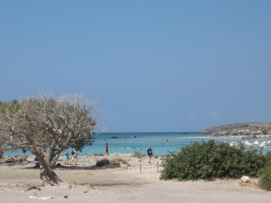 Elafonissi  Beach: arrivando a Elafonissi