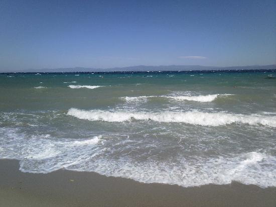 Hotel Ammos: beach again