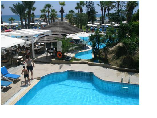 Golden Bay Beach Hotel: Pools and Garden