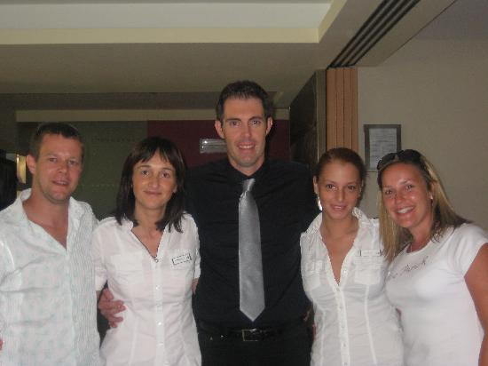 Wellness Hotel Casa Barca: Us with the Bertuzzi Family