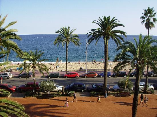 Hotel Maeva: view from our window