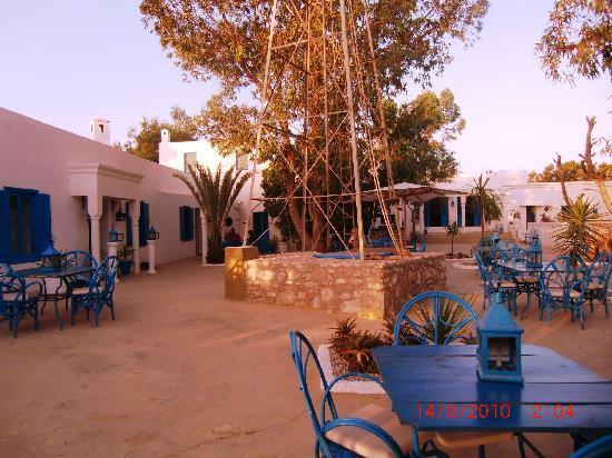 Auberge Tangaro : Le jardin du petit-déjeuner