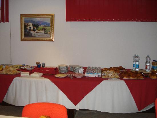 Rivoli, Italien: salon desayuno