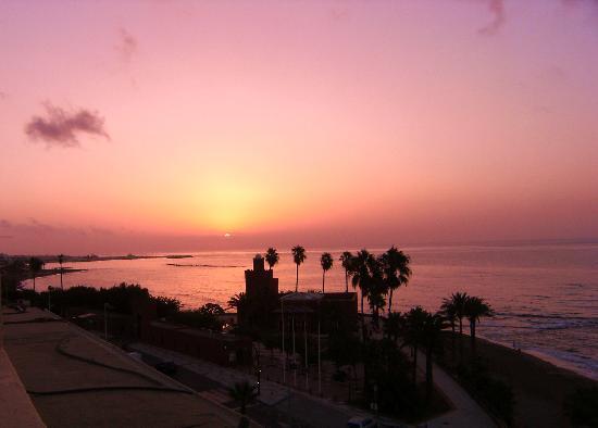 Las Arenas Hotel: Sunrise, Benalmadena