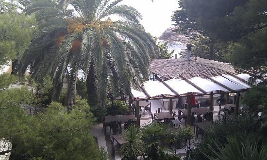 Sant Feliu de Guixols, Espagne : restaurant's terrace
