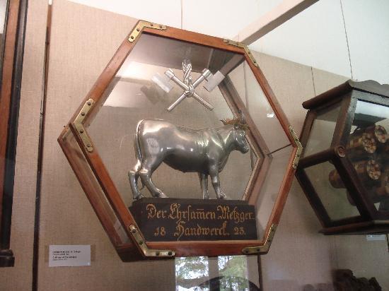 Reichsstadtmuseum: Sign