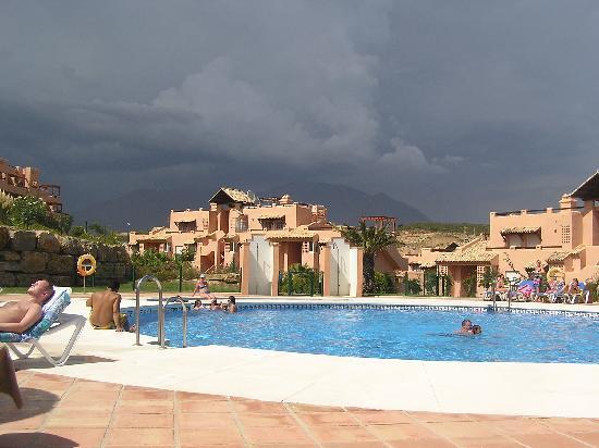 Casares Del Sol: Pool nearest our apartment