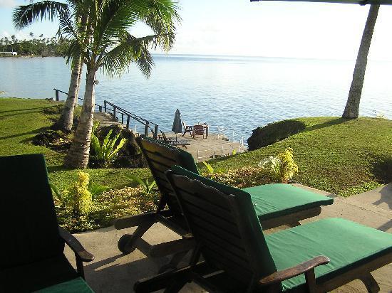 Paradise Taveuni: perfect dinner setting