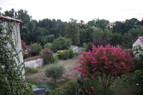 Jarnac, Francja: Vue reposante de notre chambre
