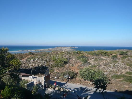 Elafonisi Resort by Kalomirakis Family: Vista dalla stanza