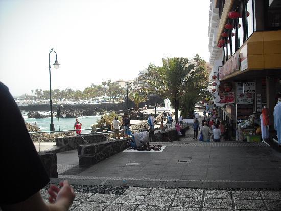 Checkin Concordia Playa: paseo san telmo.