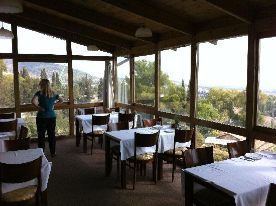 Auberge Shulamit: Great view and ambiance