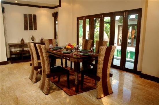 Baan Kao Hua Jook Villas & Apartments: DINING ROOM