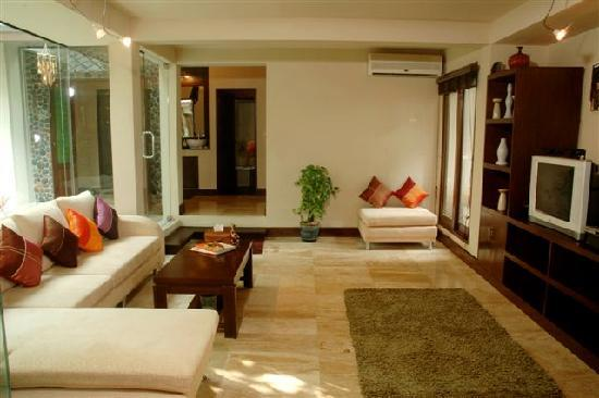 Baan Kao Hua Jook Villas & Apartments: lounge