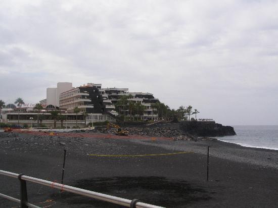 Sol La Palma Hotel by Melia : el hotel desde la playa