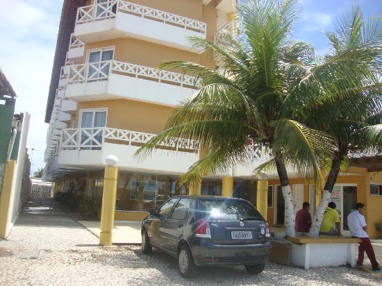 Jatoba Praia Hotel: Fachada do Hotel