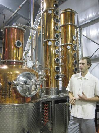 Pemberton Distillery : inside the distillery, where the magic happens