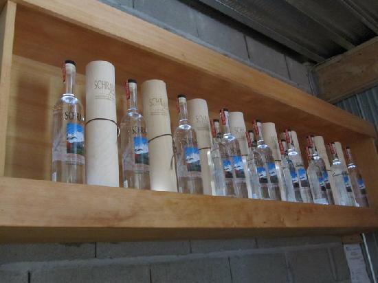 Pemberton Distillery : Schramm's vodka