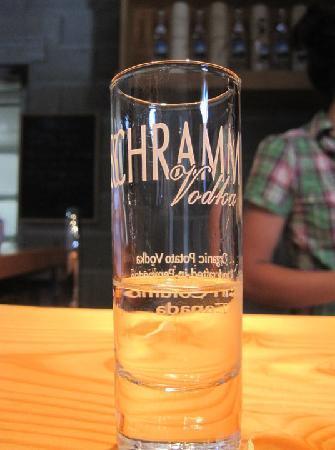 Pemberton Distillery : Schramm's shotglass