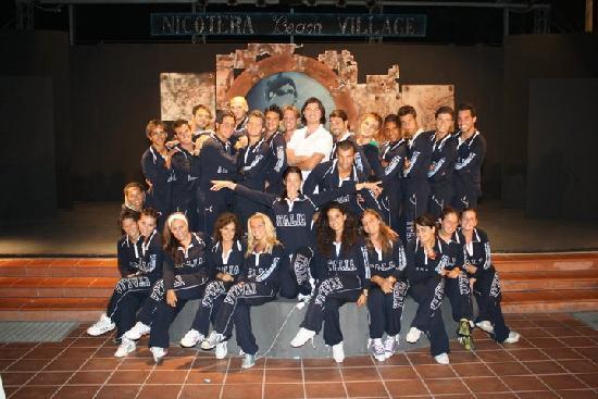 Nicotera Beach Village: l'equipe speciale al completo ....