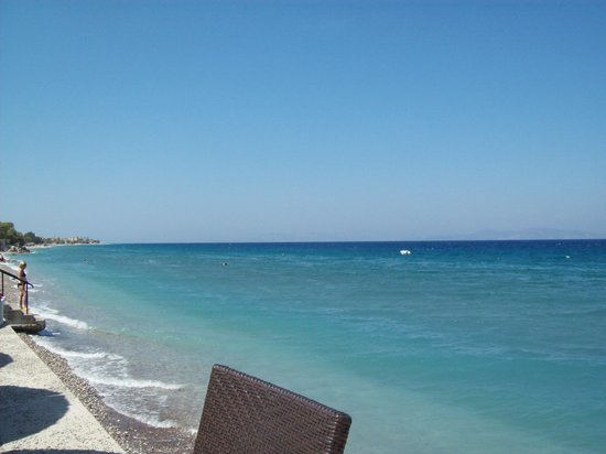 Avra Beach Resort Hotel - Bungalows: sea