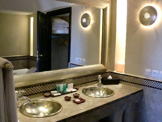 Riad Fes - Relais & Chateaux: il bagno