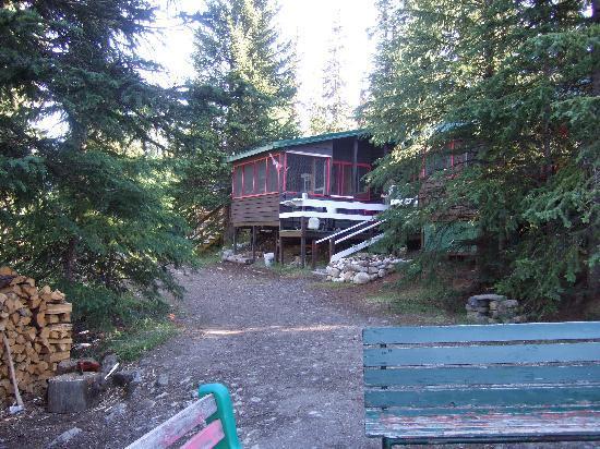 HI-Beauty Creek Wilderness Hostel: l'hostel