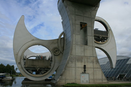 ‪‪Falkirk‬, UK: Falkirk wheel‬