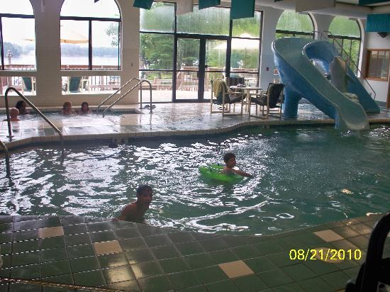 Indoor Pool And Jacuzzi Picture Of Baker S Sunset Bay