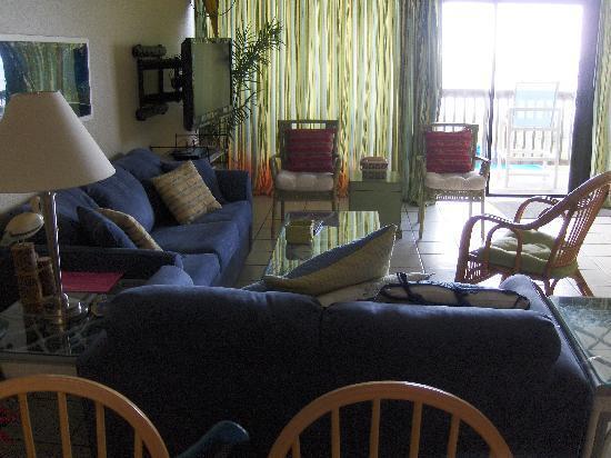 Gulf Shores Condominiums: Unit #205 Living Room