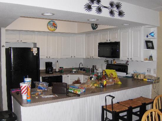 Gulf Shores Condominiums: Unit #205 kitchen