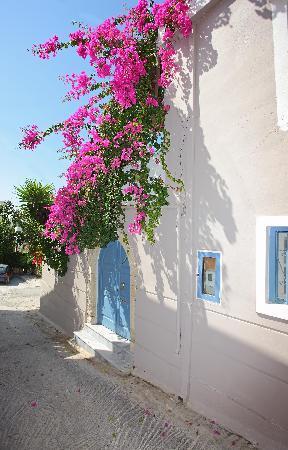 Villa Kallergi - view from village alleys
