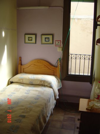 Pension Alamar: Chambre simple