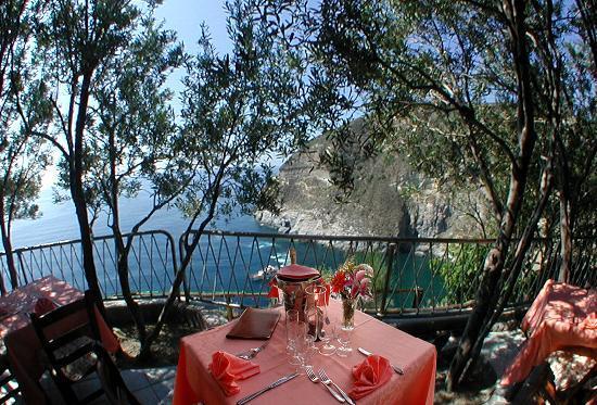 Punta Chiarito Resort Hotel Ristorante : UNA CENETTA ROMANTICA