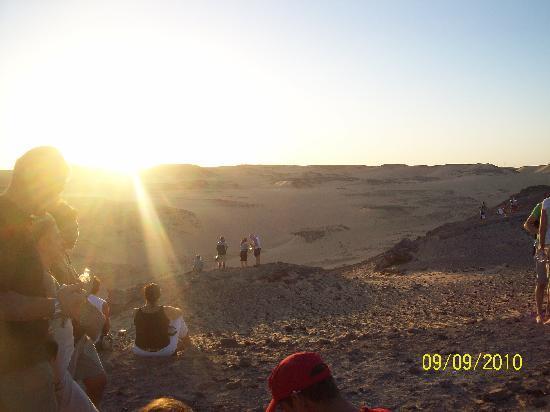 Nubian Desert: tramonto