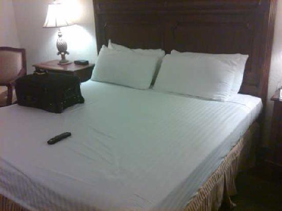 El Cortez Hotel & Casino: Comfy king bed