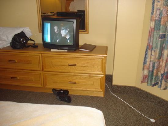 """Terra Nova Resort & Golf Community: 19"""" TV in my room"""