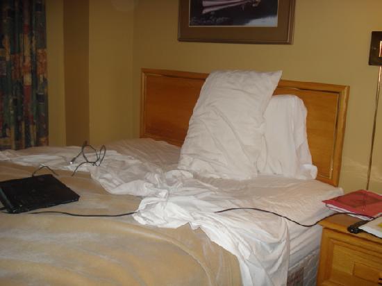 Terra Nova Resort & Golf Community: Dorm style bed and bedding