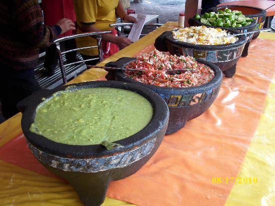 Taqueria El Pastorcito: These are the Salsas