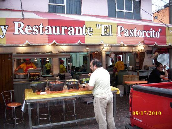 Taqueria El Pastorcito: Seeing it