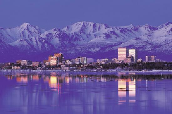 Anchorage Skyline, photo by Robert Olsen