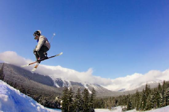 Anchorage, AK: Skiing Mount Alyeska, photo courtesy Alyeska Resort