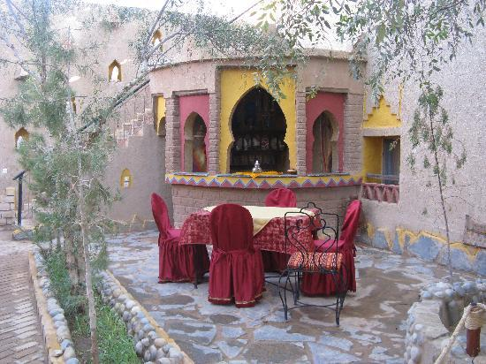 Hotel Kasbah Mohayut: favorite spot for meals