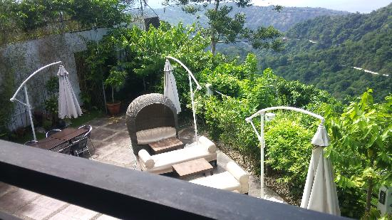 The Boutique Bed & Breakfast: view from room 2