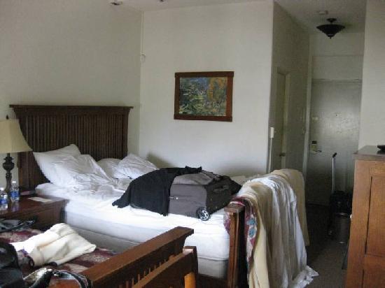 Hotel Carmel: Zimmer vor unserer Abreise