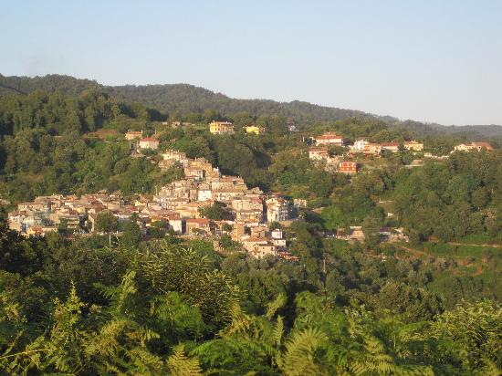 Angoli from nearby facing hill