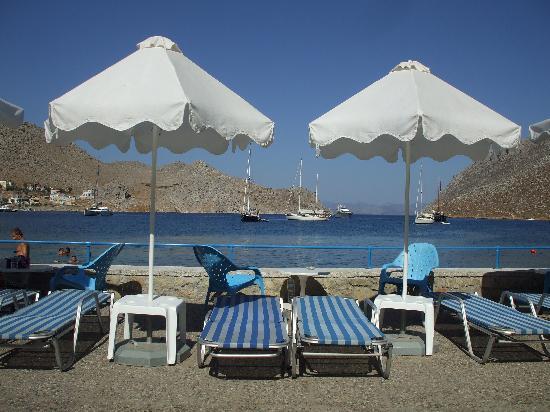 view from Pedi Beach hotel front - Picture of Pedi Beach Hotel ...