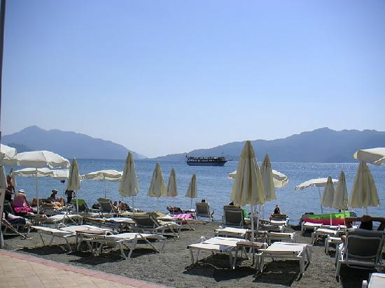 View from room - Picture of Hotel Marbella, Marmaris - TripAdvisor