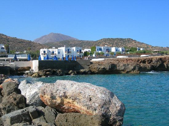 Mochlos, กรีซ: vue de l'hotel
