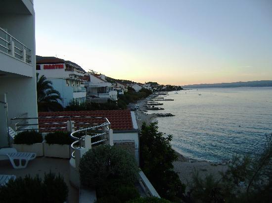 Hotel Sunce: Amplios balcones y excelente vista